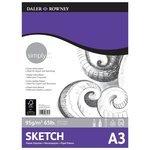 Альбом для зарисовок Daler-Rowney Simply 42 х 29.7 см (A3), 95 г/м?, 72 л.
