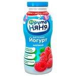 Йогурт питьевой ФрутоНяня с инулином малина (с 8-ми месяцев) 2.5%, 0.2 л