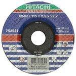 Диск отрезной 115x2.5x22.2 Hitachi 752521