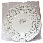 Салфетки Aviora круглые ажурные диаметр 104-061 30 x 30