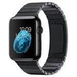 Karmaso Ремешок для Apple Watch 42 mm стальной черный
