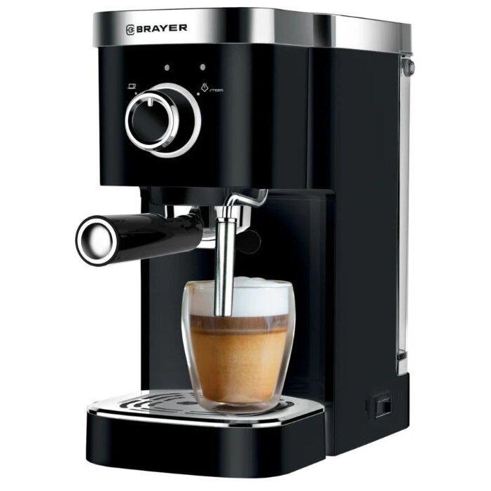 Кофеварка рожковая BRAYER BR1100 - отзывы владельцев