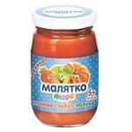Малятко Морковь-тыква-яблоко (с 5 месяцев)
