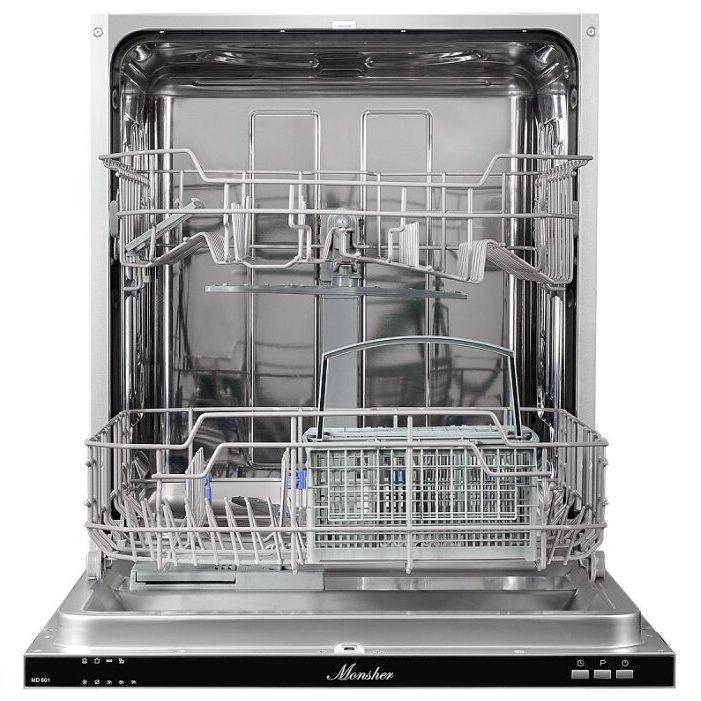 Видео обзоры Посудомоечная машина MONSHER MD 601