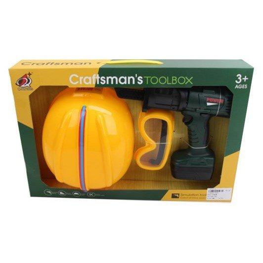 Купить Головной убор Наша игрушка Строитель 3 предмета