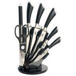 Набор Bohmann 5 ножей, ножницы и мусат с подставкой 5274BH