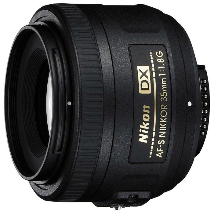 Купить Nikon 35mm f/1.8G AF-S DX Nikkor
