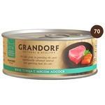 Grandorf (0.07 кг) 1 шт. Филе тунца с лососем