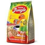 Happy Jungle Корм для декоративных птиц Основной рацион