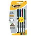 BIC Набор маркеров Marking Ultra Fine (8291221), 4 шт.