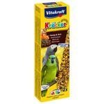 Лакомство Vitakraft Крекеры для африканских попугаев медовые (21287)