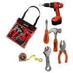 Smoby Набор инструментов в сумке Black&Decker, 5 предметов (500179)