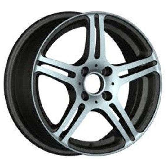 Купить Racing Wheels H-568 6.5x15/5x100 D57.1 ET38 BK FP