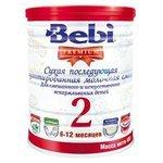 Смесь Bebi Premium 2 в банке (6-12 месяцев) 400 г