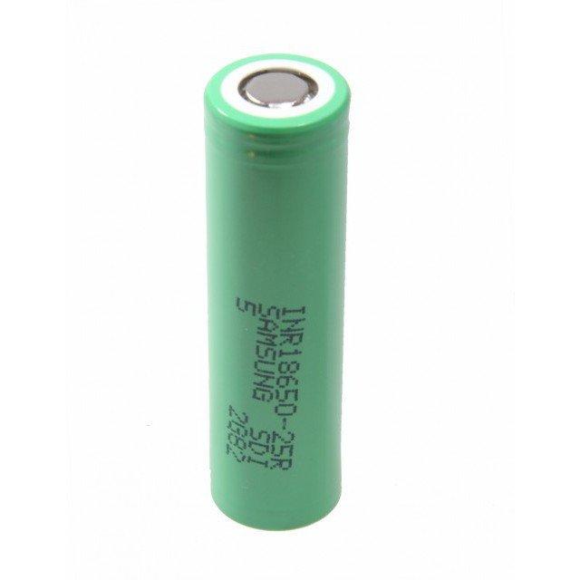Купить Элемент питания Samsung INR18650-25R,Li-Ion 3.7V 2500mAh 20A