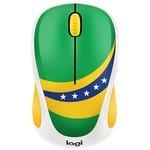 Мышь Logitech M238 Fan Collection Wireless Mice Brazil Green-Yellow USB