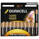 Батарейка AA Duracell LR6-18BL BASIC (18/180/20520)