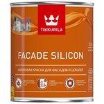 Силиконовая краска Tikkurila Facade Silicon