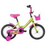 Детский велосипед Novatrack Twist 14 (2020) с корзиной
