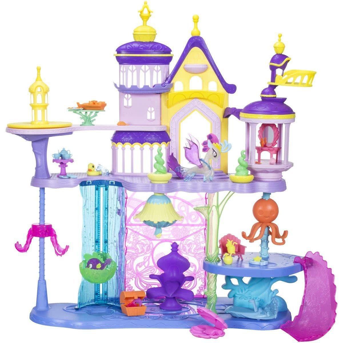 Картинки пони игрушки с замками