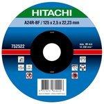 Диск отрезной 125x2.5x22.23 Hitachi 752522
