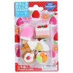 IWAKO Набор ластиков Cake & Ice Cream