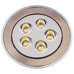 Встраиваемый светильник De Fran FT 905 LED SNCH, сатин-никель / хром