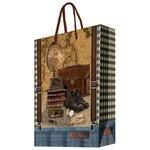 Пакет подарочный Феникс Present Сборы путешественника 40,6 х 48,9 х 19 см