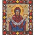 Набор для вышивания бисером NOVA SLOBODA Покров Пресвятой Богородицы