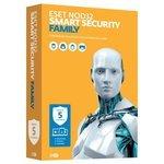 ESET NOD32 Smart Security Family (5 устройств, 1 год) коробочная версия