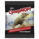Средство СуперМОР тесто-брикет 105 г