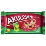 Печенье Akulchev сдобное купелька с брусникой, 225 г