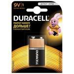Батарейка Крона Duracell 6LR61-1BL /6LF22-1BL (10/6160)