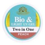 Биогель Global Fashion Bio & Light UV gel Two in One камуфлирующий для моделирования, 15 г
