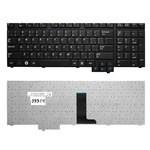 Клавиатура для ноутбука Samsung R718, R720, R728, R730, E272, E372, M730 Series. Плоский Enter. Черная, без рамки. PN: BA59-02531D, CNBA5902531CBIL. (RU TOP-99924)
