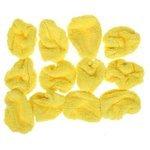 Аксессуар HOBOT запасные чистящие салфетки-обтяжки из микрофибры для 188/198 желтые (12 штук)