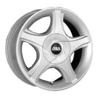 Купить ASA Wheels GS8 4.5x14/4x100 D45 ET54.1 Silver
