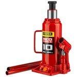 Домкрат бутылочный гидравлический STAYER Red Force 43160-10_z01 (10 т)