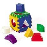 Сортер Рыжий кот Логический куб маленький И-3928