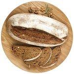Globus Хлеб с грецким орехом пшенично-ржаный