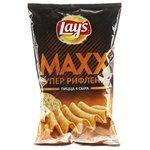 Чипсы Lay's Maxx картофельные Пицца 4 сыра рифленые