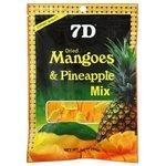 Смесь сухофруктов 7D манго и ананас 80 г