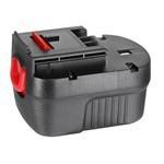 Аккумулятор BLACK&DECKER (p/n: A12, A12E, A12EX, A12-XJ, FS120B, FSB12, HPB12, 912B.H, A1712), 1.7Ah 12V (499948-50)
