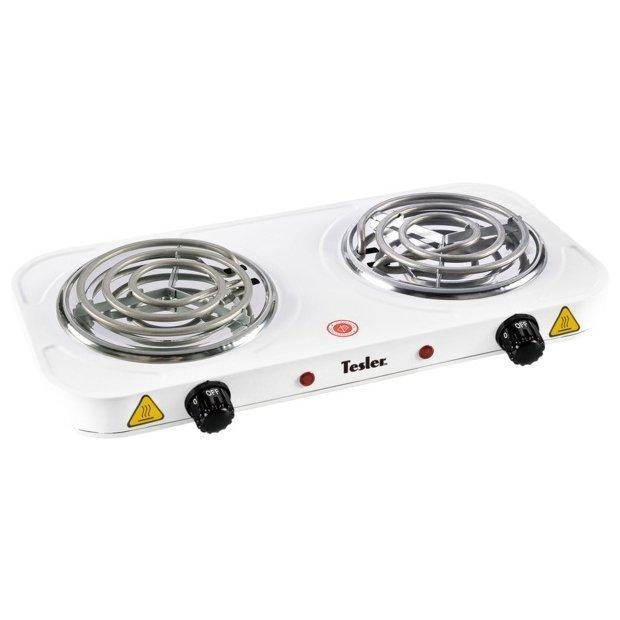 Купить Плита компактная электрическая Tesler PEO-02 WHITE белый в интернет магазине DNS. Характеристики, цена Tesler PEO-02 WHITE | 7912198