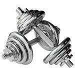 Набор гантелей разборных York Fitness B25617 2x16 кг
