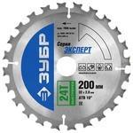 Пильный диск ЗУБР Эксперт 36901-200-32-24 200х32 мм