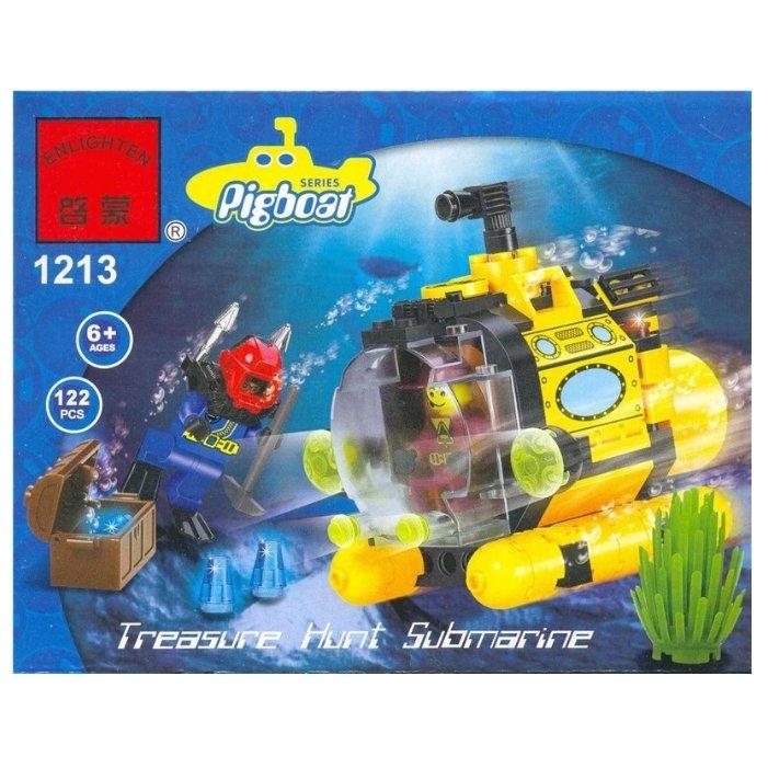 собрать подводную лодку из лего