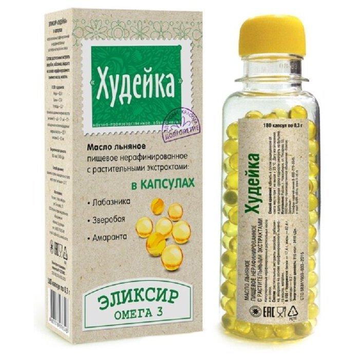 Льняное масло в капсулах при диете