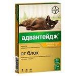 Bayer Адвантейдж для котят и кошек до 4кг (1 пипетка)