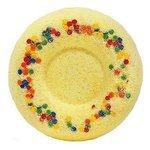 Лаборатория Катрин Бурлящий шар для ванн Медовый пончик 60 г